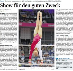 Sport im Quadrat_Mannheimer Morgen